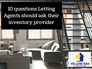 10 questions Letting Agents should ask their inventory provider