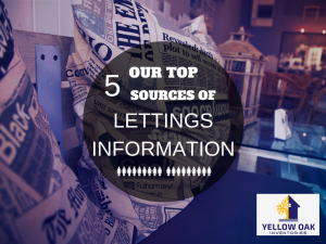 Our Top 5 Sources of Lettings Information