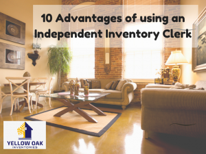 10 Advantages of using an independent Inventory Clerk